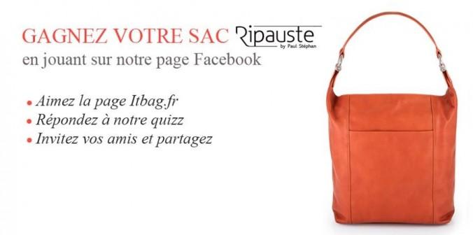 CONCOURS : gagnez votre itbag Ripauste by Paul Stéphan